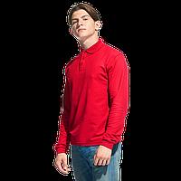 Рубашка поло с длинным рукавом, StanPolo, 04S, Красный (14), XL/52