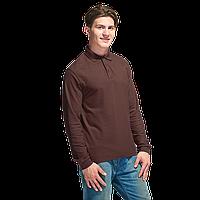 Рубашка поло с длинным рукавом, StanPolo, 04S, Тёмно-Шоколадный (107), M/48