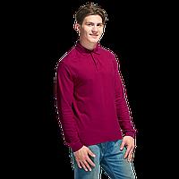 Рубашка поло с длинным рукавом, StanPolo, 04S, Бордовый (66), XL/52