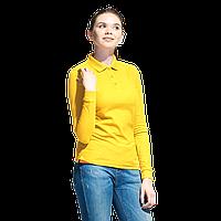 Рубашка поло с длинным рукавом, StanPoloWomen, 04SW, Жёлтый (12), XS/42