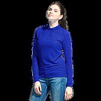 Рубашка поло сдлинным рукавом, StanPoloWomen, 04SW, Синий (16), XL/50
