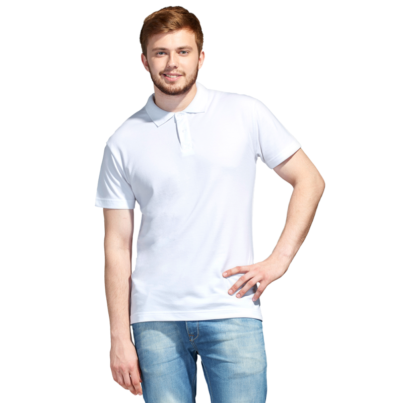 Рубашка поло унисекс, StanUniform, 04U, Белый (10), 3XS/40