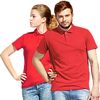 Рубашка поло унисекс, StanUniform, 04U, Красный (14), L/50