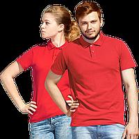 Рубашка поло унисекс, StanUniform, 04U, Красный (14), XXL/54