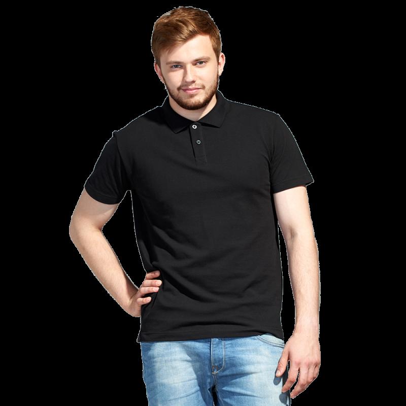 Рубашка поло унисекс, StanUniform, 04U, Чёрный (20), XL/52