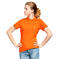 Рубашка поло унисекс, StanUniform, 04U, Оранжевый (28), M/48
