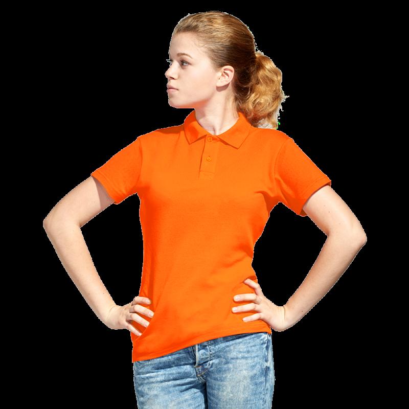Рубашка поло унисекс, StanUniform, 04U, Оранжевый (28), XXL/54