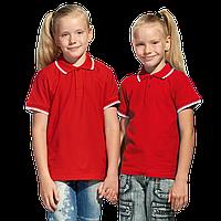 Детская рубашка поло, StanTrophyJunior, 04TJ, Красный (14), 10 лет