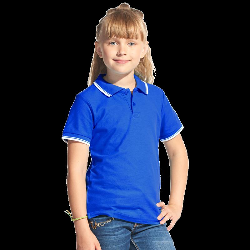 Детская рубашка поло, StanTrophyJunior, 04TJ, Синий (16), 10 лет