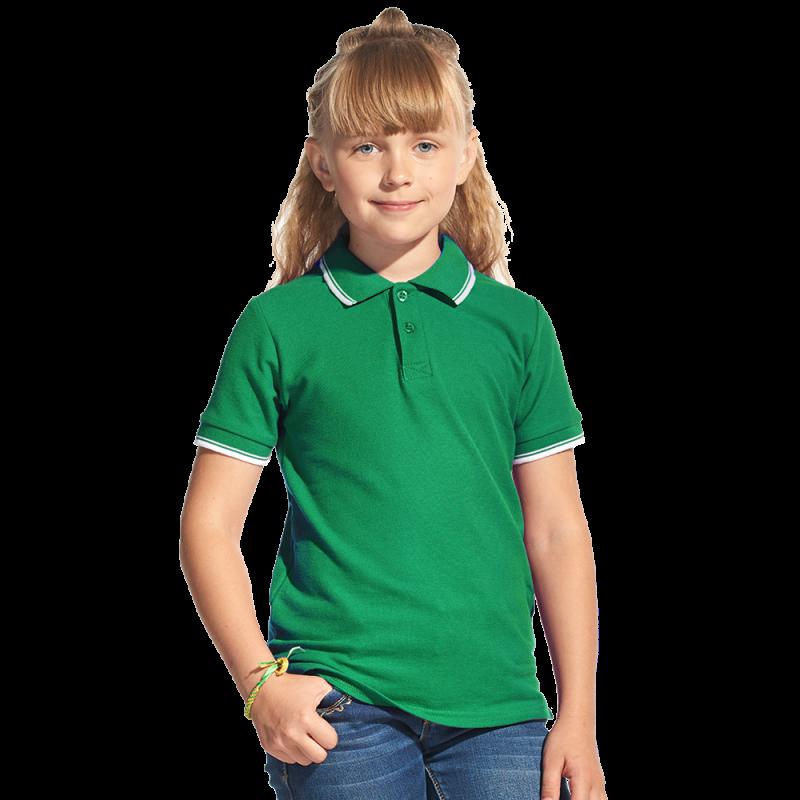 Детская рубашка поло, StanTrophyJunior, 04TJ, Зелёный (30), 8 лет