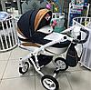 Детская универсальная коляска Adamex barletta new 2в1 (B7)