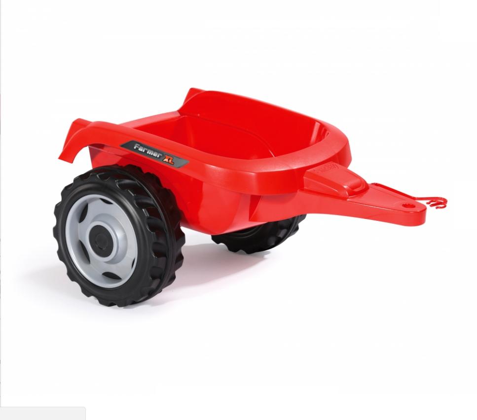 Трактор педальный Smoby XL с прицепом, красный - фото 6