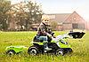 Трактор на педалях с прицепом Smoby 710109