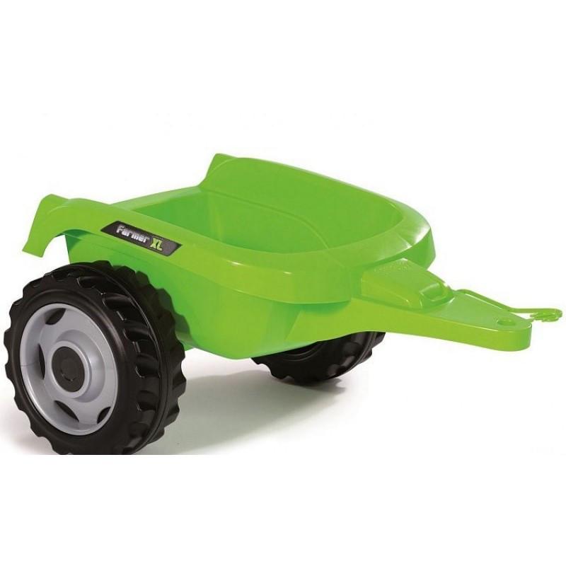 Педальный трактор с ковшом и прицепом Smoby - фото 5