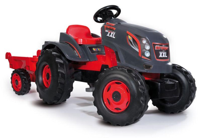 Трактор педальный Smoby XXL с прицепом - фото 2