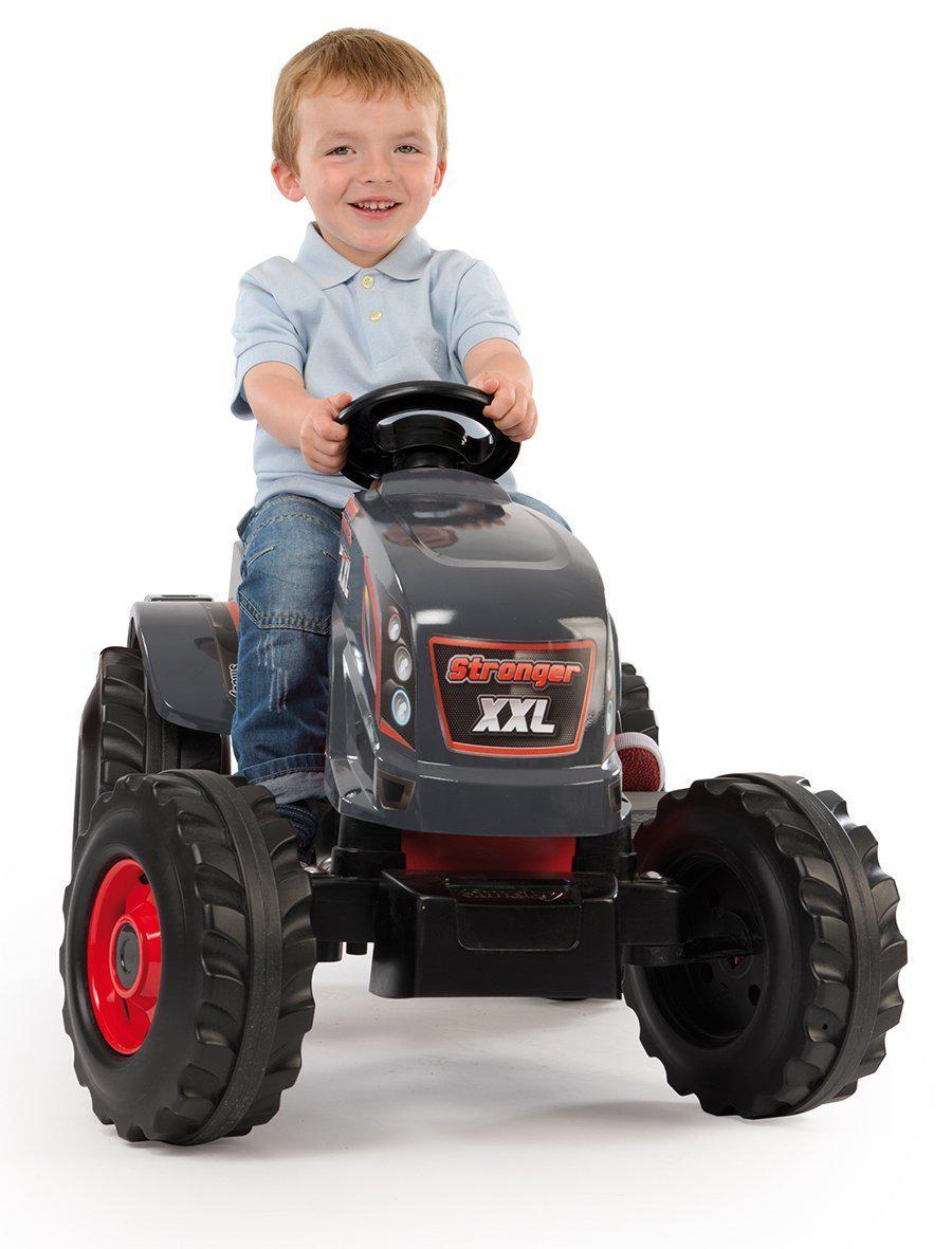 Трактор педальный Smoby XXL с прицепом - фото 4
