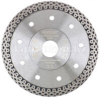 Диск алмазный ф180х22,2мм, тонкий, сплошной (Jaguar), мокрое резание 73056 (002)