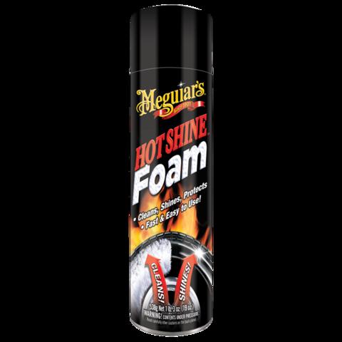 Maguiar's  Пенный очиститель для шин  Hot Shine Foam  (США)