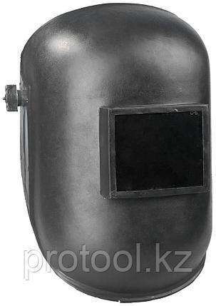 """Щиток защитный лицевой для электросварщиков """"НН-С-702 У1"""" с увеличенным наголовником, евростекло, 110х90мм, фото 2"""