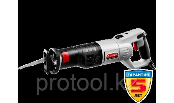 Пила сабельная (электроножовка), ЗУБР ЗПС-1100 Э, 1100 Вт, 800-2700 ход/мин