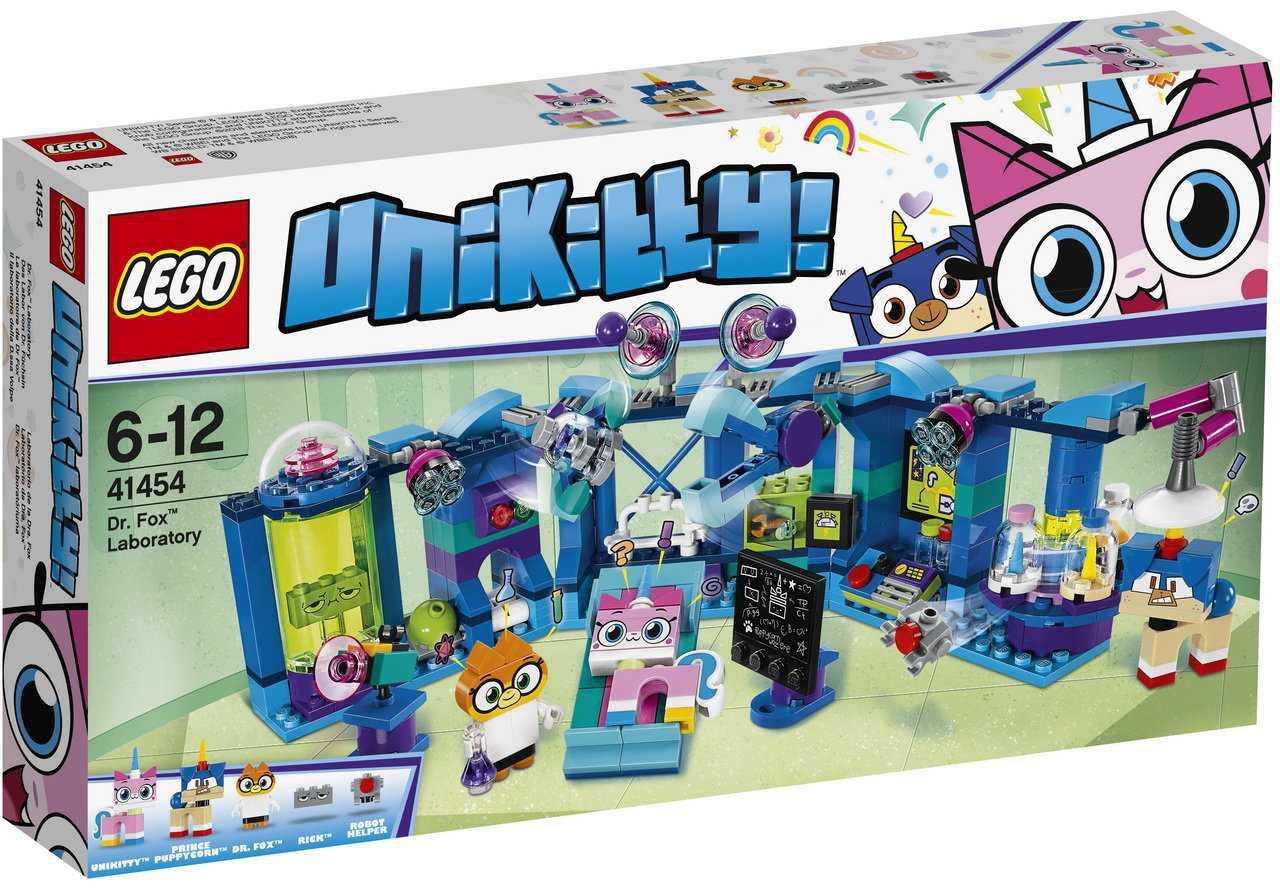 41454 Lego Unikitty Лаборатория доктора Фокса, Лего Юникитти