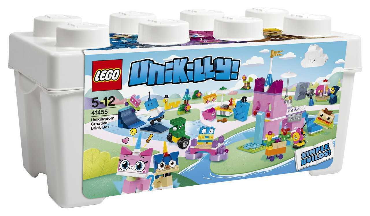 """41455 Lego Unikitty Коробка кубиков для творческого конструирования """"Королевство"""", Лего Юникитти"""