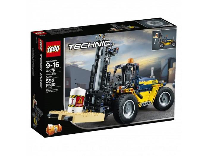 42079 Lego Technic Сверхмощный вилочный погрузчик, Лего Техник