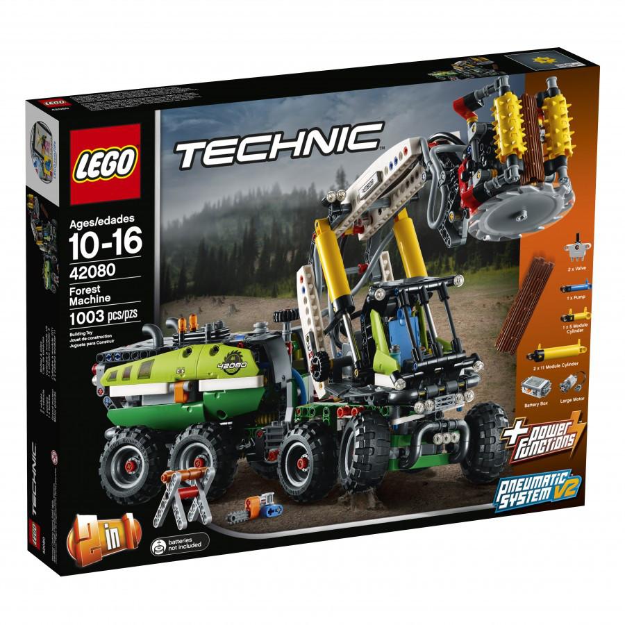 42080 Lego Technic Лесозаготовительная машина, Лего Техник