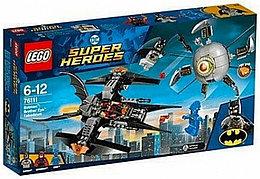 76111 Lego Super Heroes Бетмен: ликвидация Глаза брата, Лего Супер Герои DC