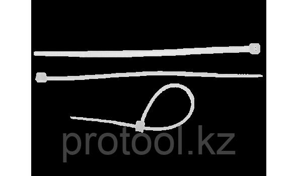 Хомуты нейлоновые белые, 7.6 x 500 мм, 50 шт, ЗУБР