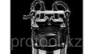 Насос фекальный погружной, ЗУБР НПФ-750, 750 Вт, пропускная способность 310 л/мин, напор 14 м, чугунный корпус, фото 2