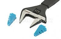 Ключ разводной, 200 мм,CrV, тонкие губки, защитные насадки 15568 (002)