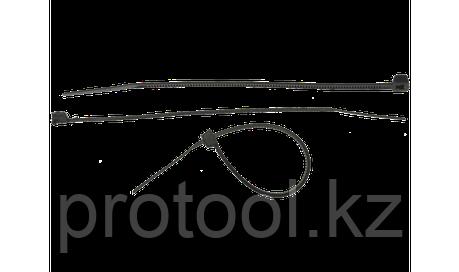 Хомуты нейлоновые черные, 7.6 x 250 мм, 100 шт, ЗУБР, фото 2
