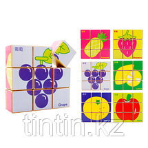 Деревянные кубики-пазлы, фото 3
