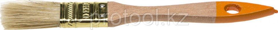 """Кисть флейцевая DEXX """"ПРАКТИК"""", деревянная ручка, натуральная щетина, индивидуальная упаковка, 50мм"""