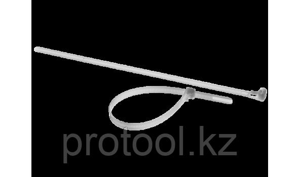 Хомуты нейлоновые многоразовые, 7.5 x 300 мм, 100 шт, ЗУБР