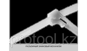 Хомуты нейлоновые многоразовые, 7.5 x 300 мм, 100 шт, ЗУБР, фото 3
