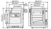 Мультигазовый инкубатор с воздушной рубашкой Panasonic (SANYO) MCO-5М (MCO-5М-PE), 49 л, 2-IR-сенсор СО2, Zr-с