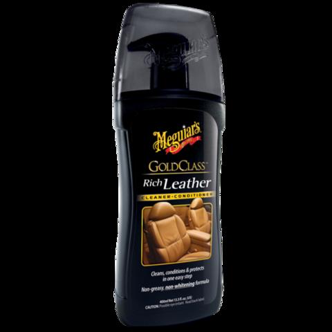 Meguiar's Очиститель и кондиционер для кожи Gold Class (США)