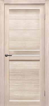 Дверь Вектор, цвет лиственница кремовая, матовое стекло
