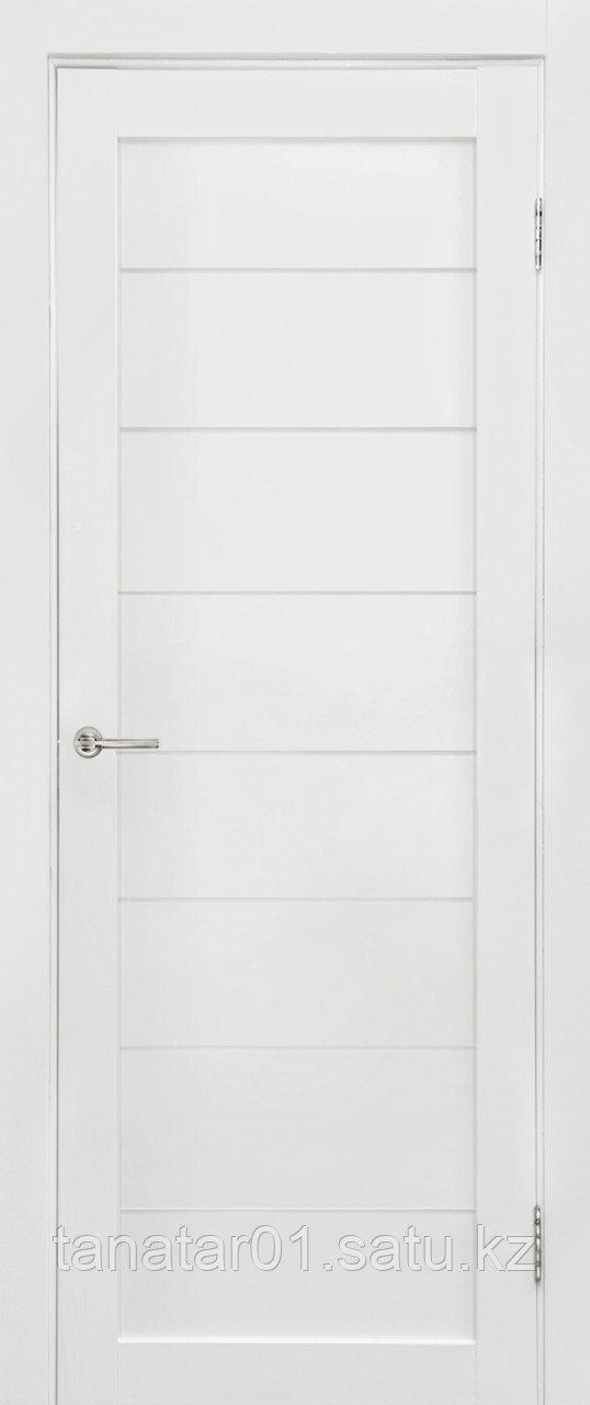 Дверь Глухая, цвет белый мат
