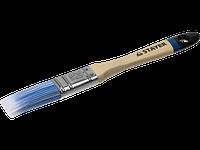 """Кисть плоская STAYER """"EURO"""", """"AQUA"""" для воднодисперсионных и акриловых ЛКМ, искусств щетина, деревян ручка, 2,"""