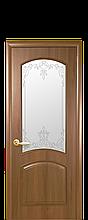 """Дверь """"Антре"""" со стеклом стеклом золотая ольха"""