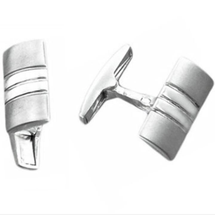 Запонки из серебра