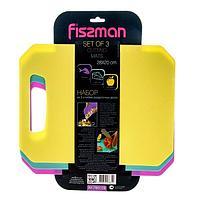 7831 FISSMAN Набор из 3 гибких разделочных досок 28x20 см (пластик)