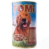 TOMI консервы для собак (пять видов мяса) 1.2 кг.
