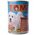 TOMi 5 ВИДОВ МЯСА (5 kinds of meat) консервы корм для собак, банка 400г.
