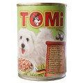 TOMi ЯГНЕНОК (lamb) консервы корм для собак, банка 400г.