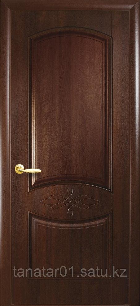 """Дверь """"Донна"""" глухая каштан"""
