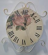 Кованые круглые Часы